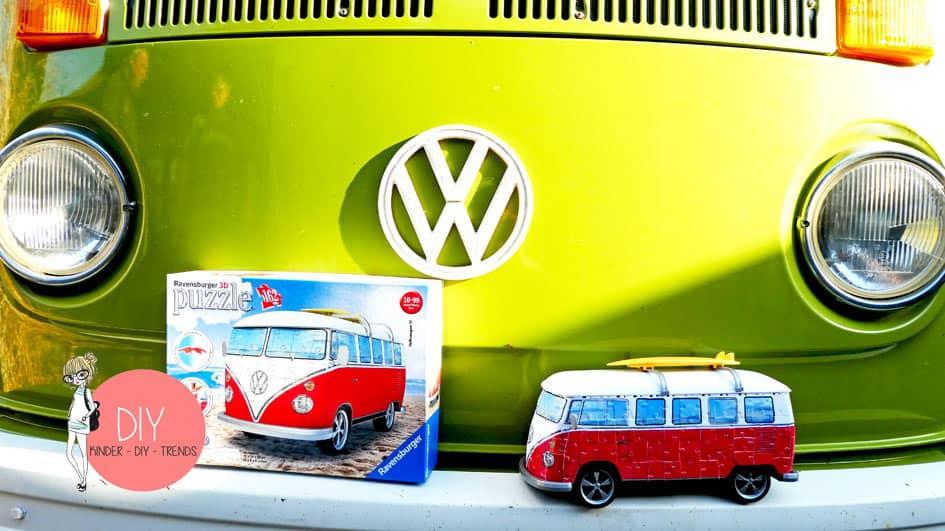 Basteln vw bus aus papier Bastelbogen VW